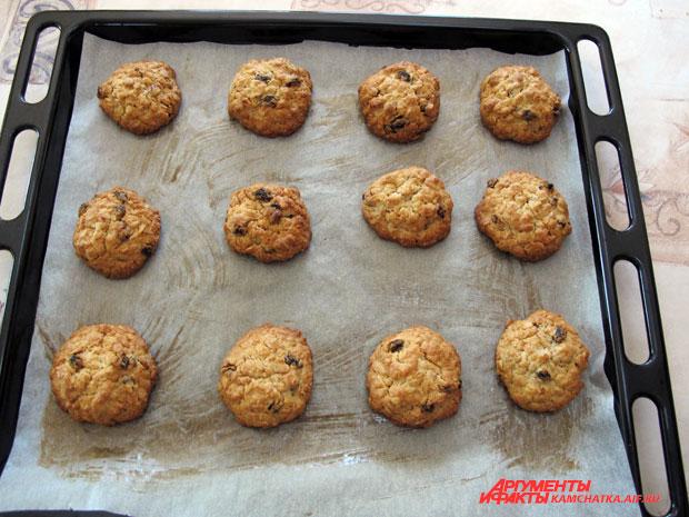 как приготовить печенье овсяное дома